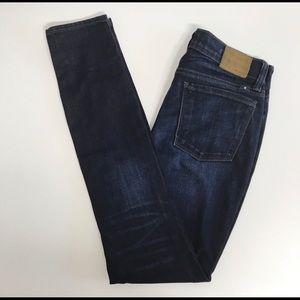 Lucky Brand Jeans 0/25 Brooke Skinny Dark Wash